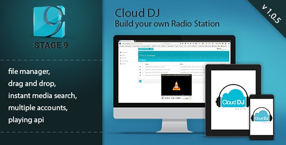 Cloud DJ by dorincanepa | CodeCanyon