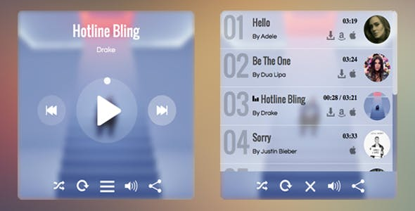 jQuery Audio Player (Music)