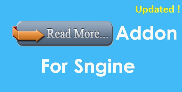 Read More Addon For Sngine - CodeCanyon Item for Sale