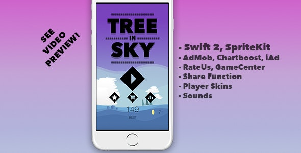 Tree In Sky - CodeCanyon Item for Sale