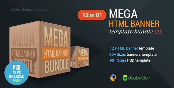Mega HTML Banner Bundle 01
