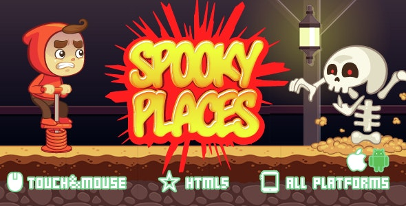 SPOOKY PLACES - CodeCanyon Item for Sale