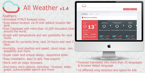 All Weather - CodeCanyon Item for Sale