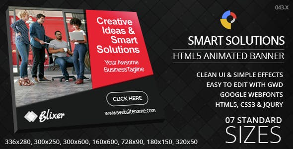 Creative Solutions - HTML5 Ad Banners