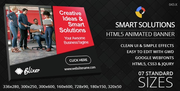 Creative Solutions - HTML5 Ad Banners - CodeCanyon Item for Sale