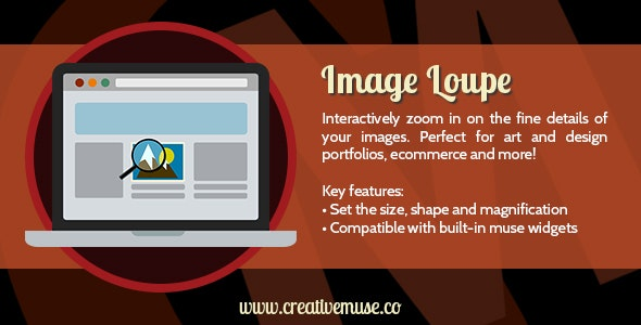 Image Loupe Widget for Adobe Muse by Creative_Muse | CodeCanyon
