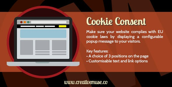 Cookie Consent Widget for Adobe Muse