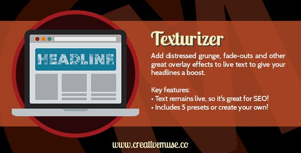 Texturizer Widget for Adobe Muse