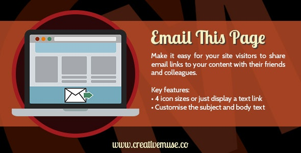 Email This Page Widget for Adobe Muse by Creative_Muse | CodeCanyon