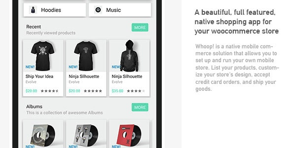 Whoop! Android woocommerce app - CodeCanyon Item for Sale