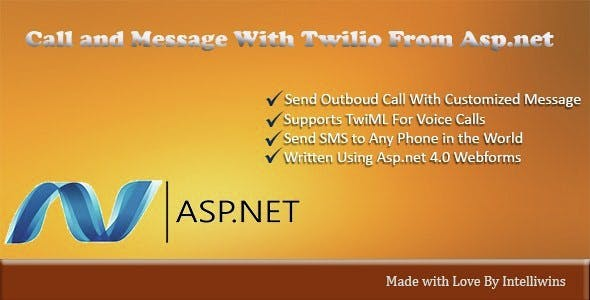 Click to Call and Message With asp.net