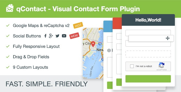 qContact Form Builder - Easy Contact Form - CodeCanyon Item for Sale