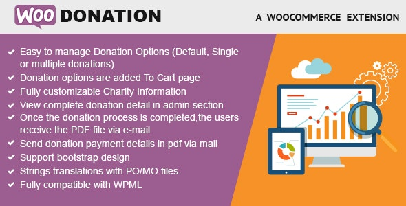 WooDonation - WooCommerce Donation Plugin - CodeCanyon Item for Sale