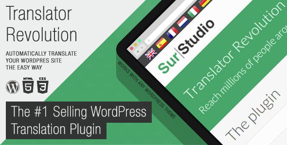 Ajax Translator Revolution WordPress Plugin        Nulled