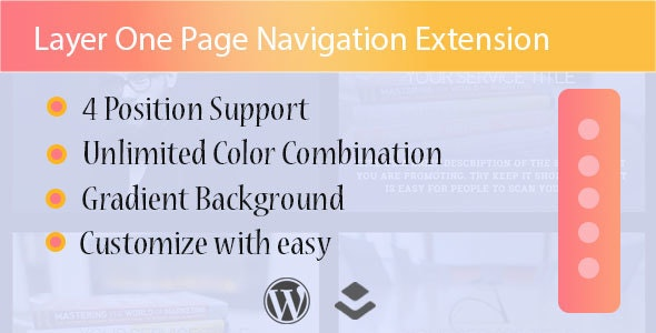 Layer - One Page Navigation Extension - CodeCanyon Item for Sale