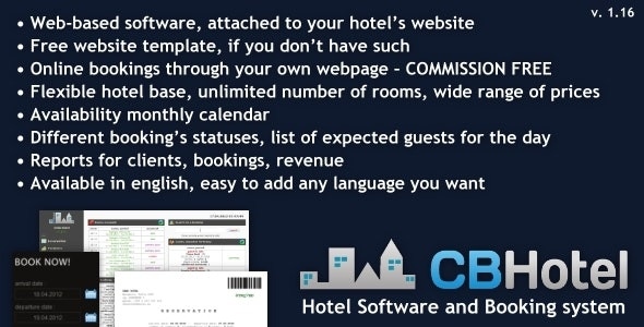 Hotel Software And Booking System By Brayan Codecanyon