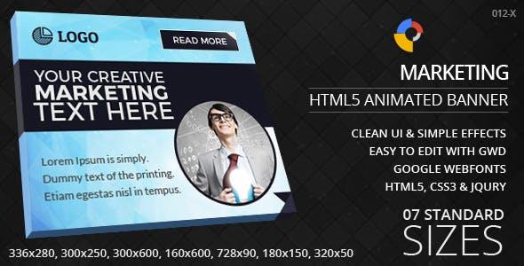 Creative Marketing - HTML5 Ad Banners