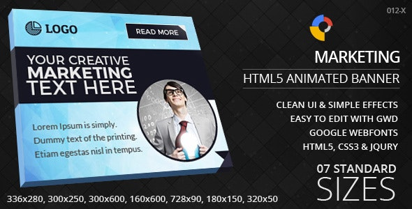 Creative Marketing - HTML5 Ad Banners - CodeCanyon Item for Sale