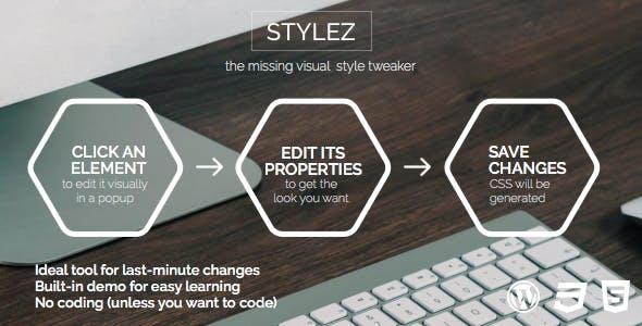 STYLEZ - visual CSS style tweaker