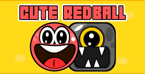 Cute Red Ball - Html5 Mobile Game android & ios - CodeCanyon Item for Sale