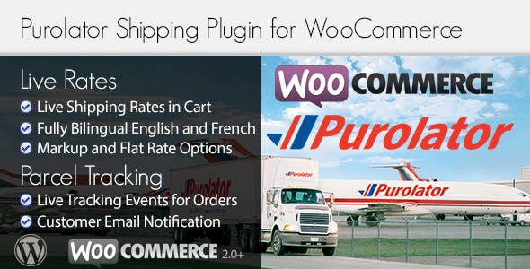 Purolator Woocommerce Shipping Plugin For Rates And Tracking