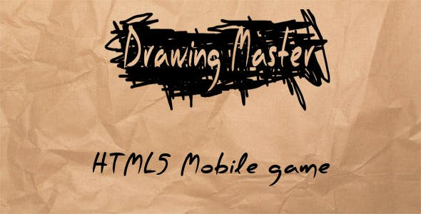 Drawing Master - HTML5 Mobile Game