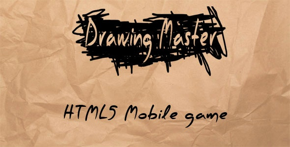 Drawing Master - HTML5 Mobile Game - CodeCanyon Item for Sale
