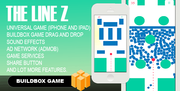 The Line Zen + Admob + IAP + Leaderboard