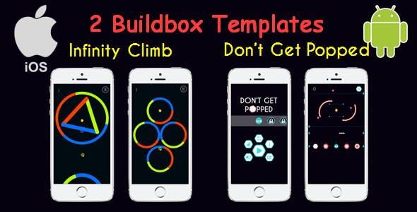 2 Templates Offers (Don't Get Popped & Color Switch - Infinity Climb)