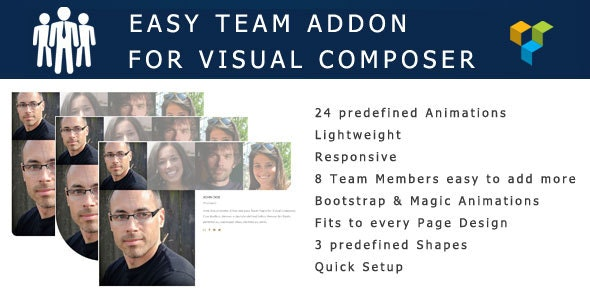 Easy Team Visual Composer Addon - CodeCanyon Item for Sale