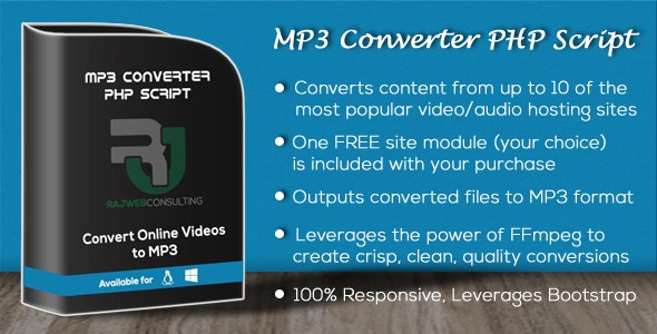 MP3 Converter PHP Script by chump2877 | CodeCanyon