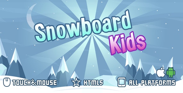 snowboard kids-html5 mobile game(capx) - CodeCanyon Item for Sale