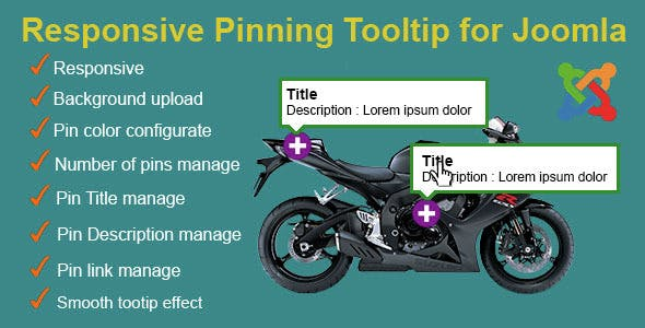 Responsive Pinning Tooltip for Joomla