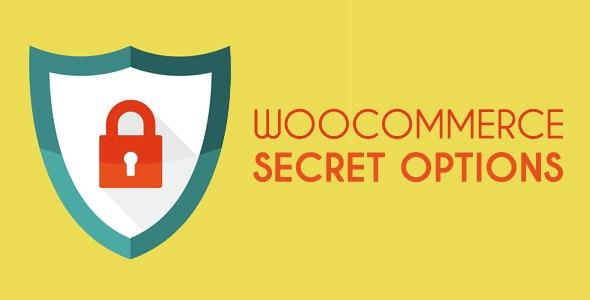 WooCommerce Secret Options - CodeCanyon Item for Sale