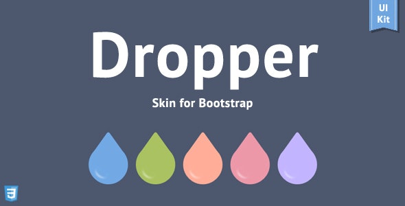 Dropper - Bootstrap Skin - CodeCanyon Item for Sale