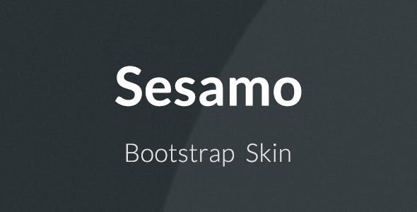 Sesamo - Bootstrap Skin - CodeCanyon Item for Sale