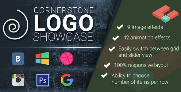 Logo Showcase for Cornerstone - CodeCanyon Item for Sale