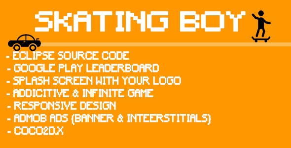 Skating Boy - CodeCanyon Item for Sale