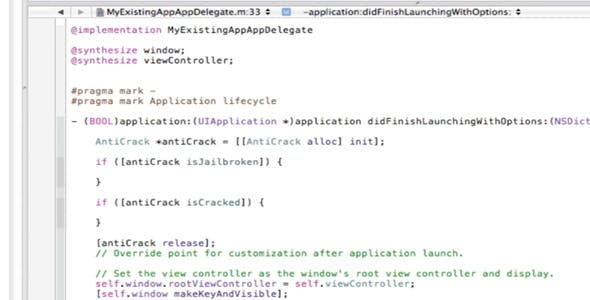 Anti Crack/Jailbreak Detection - iOS Xcode Library