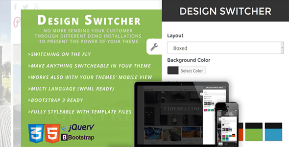 Design Switch - CodeCanyon Item for Sale