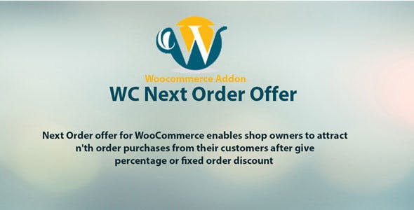 Woocommerce next order offer