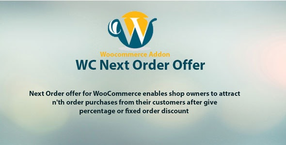 Woocommerce next order offer by NBGoyani | CodeCanyon