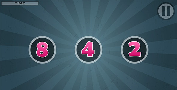 Remember Numbers with AdMob and Leaderboard - CodeCanyon Item for Sale