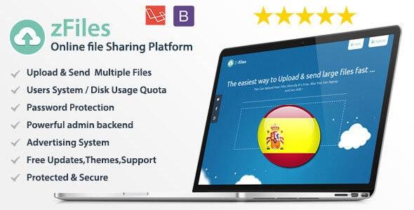 Spanish Language for zFiles Upload Center - CodeCanyon Item for Sale