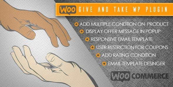 WooCommerce Give and Take