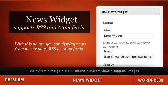 News Widget for WordPress - CodeCanyon Item for Sale
