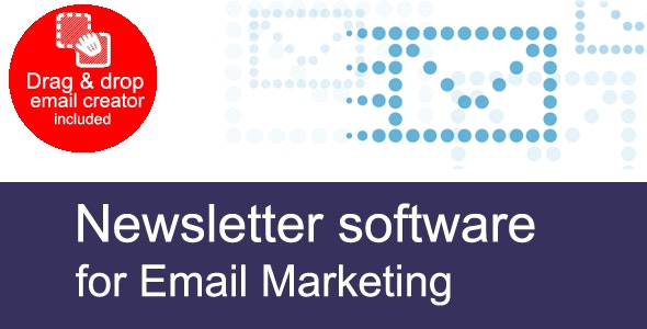 Newsletter software for email marketing - CodeCanyon Item for Sale