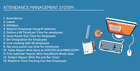 Timesheet Attendance Management System by kingpabel | CodeCanyon