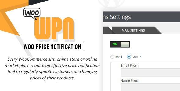 Woo Price Notification/Alert Plugin for WooCommerce Shops