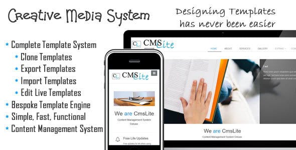 Creative Management System - CMS Lite
